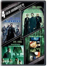 4 Film Favorite:Matrix Collection - (Region 1 Import DVD)