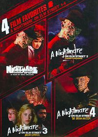 4 Film Favorite:Nightmare on Elm Stre - (Region 1 Import DVD)