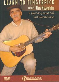 Learn to Fingerpick with Jim Kweskin - (Region 1 Import DVD)