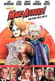 Mars Attacks - (Region 1 Import DVD)