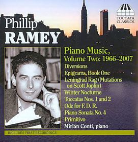 Ramey:Piano Music Vol Two 1966-2007 - (Import CD)