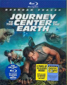 Journey to the Center of the Earth - (Region A Import Blu-ray Disc)