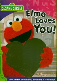 Elmo Loves You - (Region 1 Import DVD)