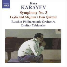 Karaokejev: Symphony No 3 - Russian Po/Yablonsky (CD)