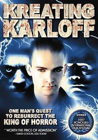 Kreating Karloff - (Region 1 Import DVD)