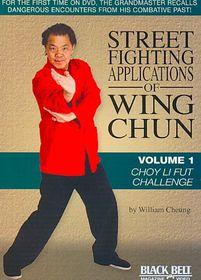 Street Fighting App/Wing Chun V1:Choy - (Region 1 Import DVD)
