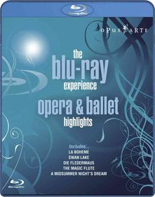 Opera and Ballet Highlights: The Blu-Ray Experience - (Import Blu-ray Disc)