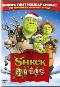 Shrek the Halls (DVD)