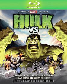 Hulk Vs - (Region A Import Blu-ray Disc)
