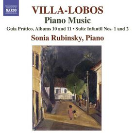 Villa-lobos: Piano Music Vol 8 - Piano Music - Vol.8 (CD)
