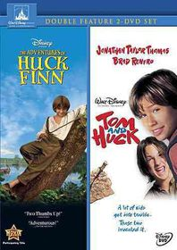 Adventures of Huck Finn/Tom and Huck - (Region 1 Import DVD)