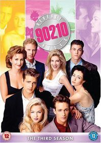 Beverly Hills 90210: The Third Season - (Import DVD)