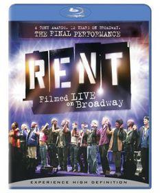 Rent:Filmed Live on Broadway - (Region A Import Blu-ray Disc)
