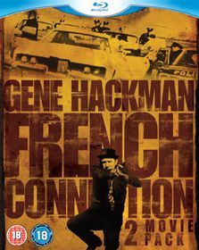 The French Connection/French Connection II (Special Edition) - (Import Blu-ray Disc)