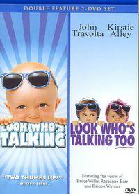 Look Who's Talking/Looks Who's Talkin - (Region 1 Import DVD)