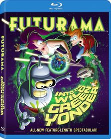 Futurama:into the Wild Green Yonder - (Region A Import Blu-ray Disc)
