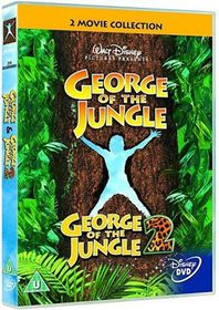 George of the Jungle/George of the Jungle 2 - (Import DVD)
