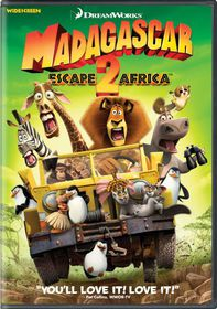 Madagascar:Escape 2 Africa - (Region 1 Import DVD)