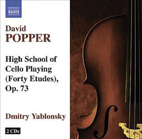 Popper: Forty Etudes Op 73 - Forty Etudes Op.73 (CD)