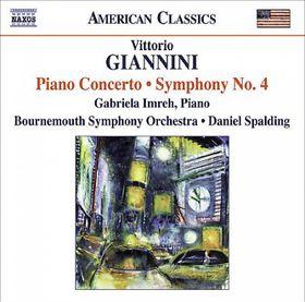 Giannini - Piano Concerto (CD)