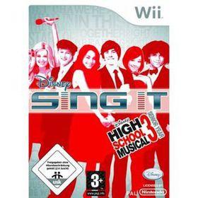 High School Musical 3: Senior Year - Sing It! (Wii)