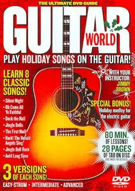 Guitar World:Play Holiday Songs on Th - (Region 1 Import DVD)