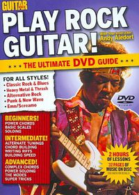 Guitar World:Play Rock Guitar - (Region 1 Import DVD)