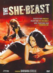 She Beast - (Region 1 Import DVD)
