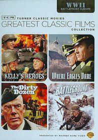 Tcm Films:Wwii Battlefront Europe - (Region 1 Import DVD)