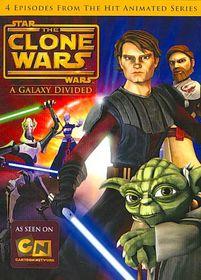 Star Wars:Clone Wars a Galaxy Divided - (Region 1 Import DVD)