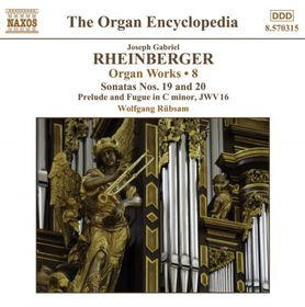 Rheinberger: Organ Works Vol 8 - Organ Works - Vol.8 (CD)