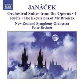 Janacek: Suites From The Opera - Suites From The Opera (CD)