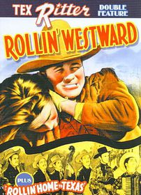 Tex Ritter Double Feature:Rollin West - (Region 1 Import DVD)