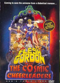 Flesh Gordon Meets the Cosmic Cheerle - (Region 1 Import DVD)