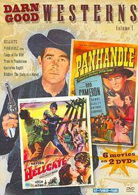 Darn Good Westerns Vol 1 - (Region 1 Import DVD)
