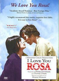I Love You Rosa - (Region 1 Import DVD)