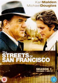 The Streets of San Francisco: Season 1 - (Import DVD)