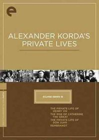 Alex Korda's Private Lives:Eclipse 16 - (Region 1 Import DVD)