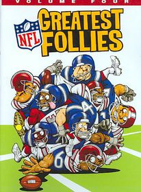Nfl Greatest Follies Volume Four - (Region 1 Import DVD)