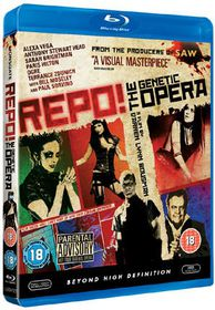 Repo! The Genetic Opera - (Import Blu-ray Disc)