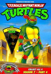 Tmnt 25th Ssn 7 Pt 4:Raphael Slice - (Region 1 Import DVD)