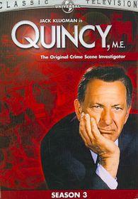 Quincy Me:Season 3 - (Region 1 Import DVD)
