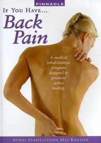If You Have Back Pain (Spinal Stabilization) - (Region 1 Import DVD)