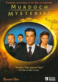 Murdoch Mysteries Season 1 - (Region 1 Import DVD)