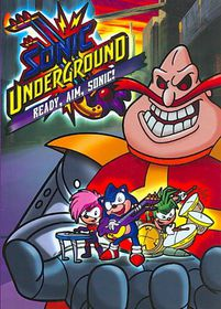 Sonic Underground:Ready Aim Sonic - (Region 1 Import DVD)