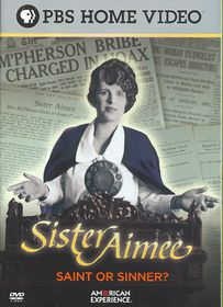 American Experience:Sister Aimee - (Region 1 Import DVD)