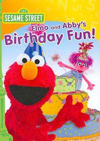 Elmo and Abby's Birthday Fun - (Region 1 Import DVD)
