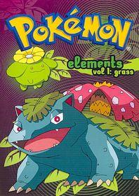 Pokemon Elements V1:Grass - (Region 1 Import DVD)