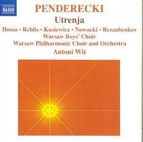 Penderecki: Utrenja - Warsaw Po/wit (CD)