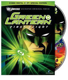 Green Lantern:First Flight - (Region 1 Import DVD)